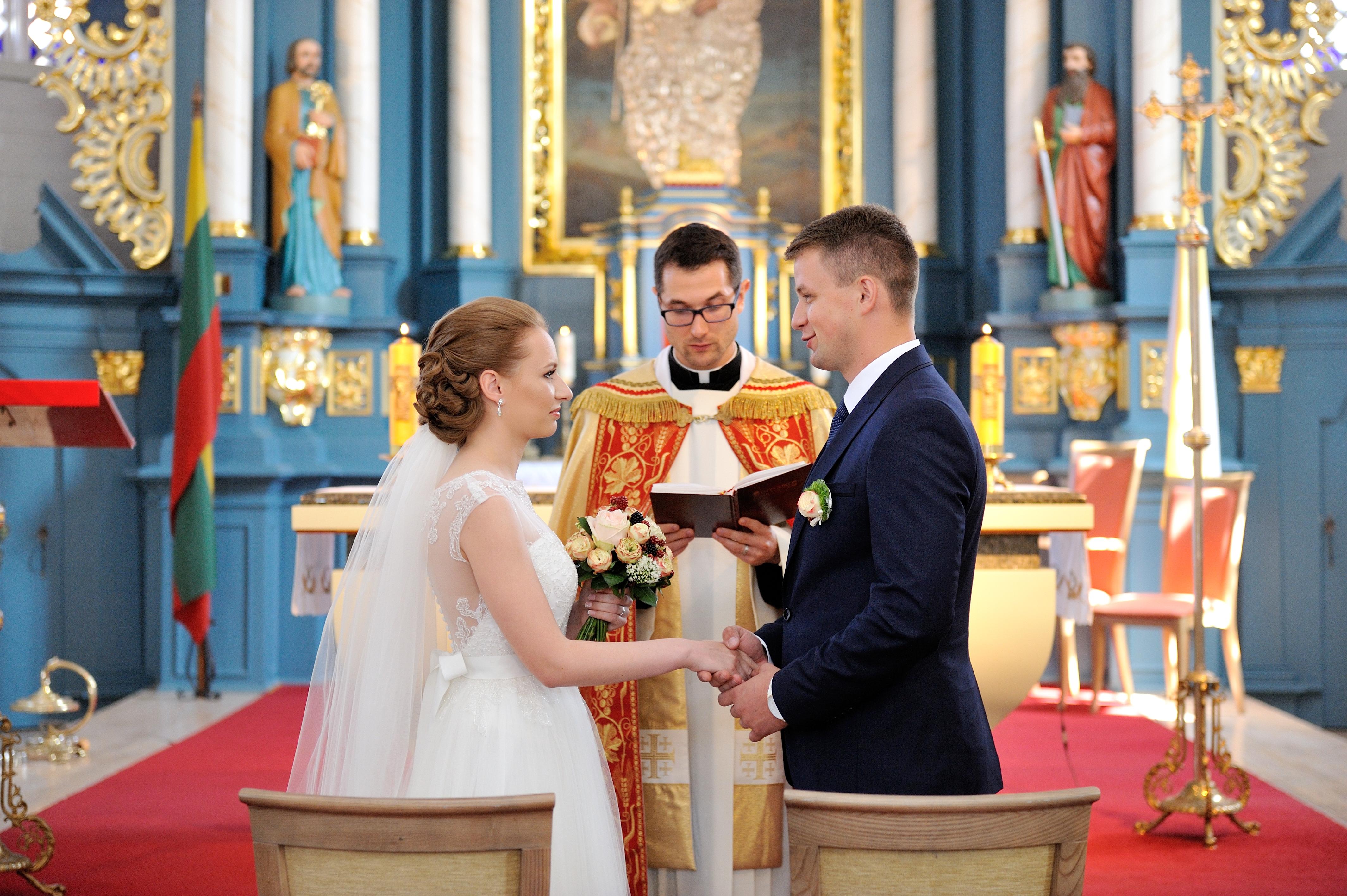 Santuokos priesaika bažnyčioje